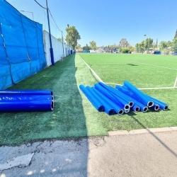 """Τοποθέτηση Προστετευτικών στο Βοηθητικό Γήπεδο ποδοσφαίρου """"Δούκας"""""""