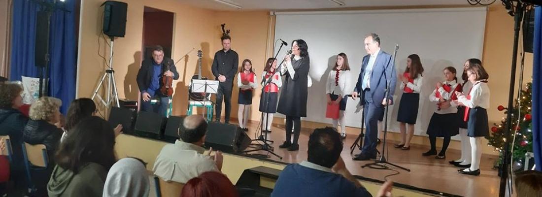 Χριστουγεννιάτικη Συναυλία από το Εσπερινό Γυμνάσιο- Λύκειο Ελευσίνας.