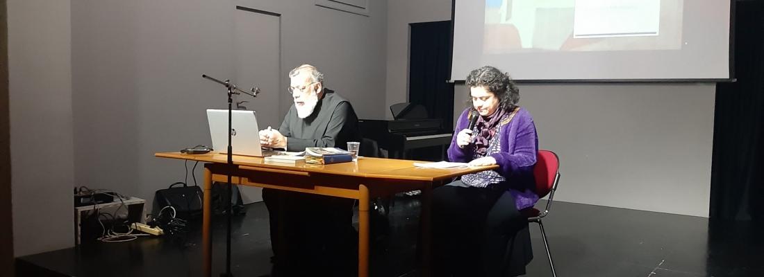 Ι' Διάλεξη Λαϊκού Πανεπιστημίου Ελευσίνας με θέμα : << Υγεία και Θρησκεία>> από τον Εκπαιδευτικό, Διευθυντή Ποιμαντικής Γάμου και Οικογένειας Αρχιεπισκοπής Αθηνών, Πάτερ Αντώνιο Καλλιγέρη