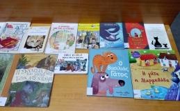 Γατοϊστορίες στη βιβλιοθήκη!