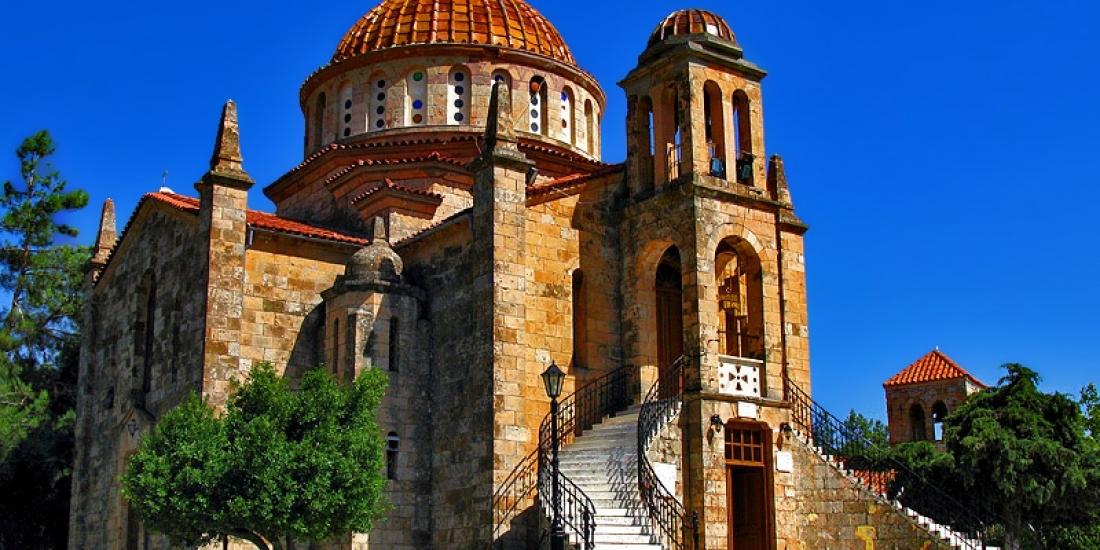 Επίσκεψη στην Ιερά  Μονή Μεταμορφώσεως του Σωτήρος στα Βίλια
