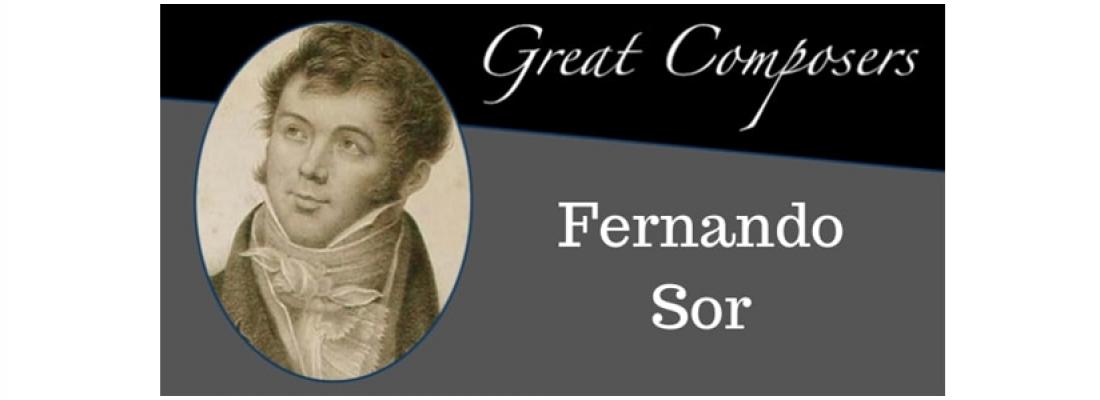 Αφιέρωμα στον κλασικό κιθαρίστα Fernando Sor 1778-1839, από τον μουσικό του ΝΠΔΔ ΠΑΚΠΠΑ Δ. Ελευσίνας